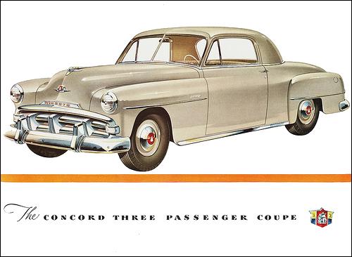 Plymouth 1951 ConcordThreePassengerCoupe